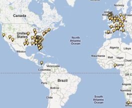 TripAdvisor Travel Map